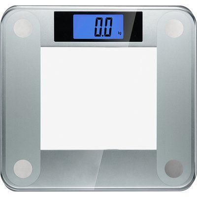 Ozeri Precision II Digital Bathroom Scale (440 lbs Capacity), with Weight Change Detection Technology Color: Silver