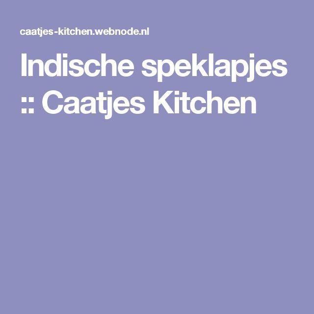 Indische speklapjes :: Caatjes Kitchen