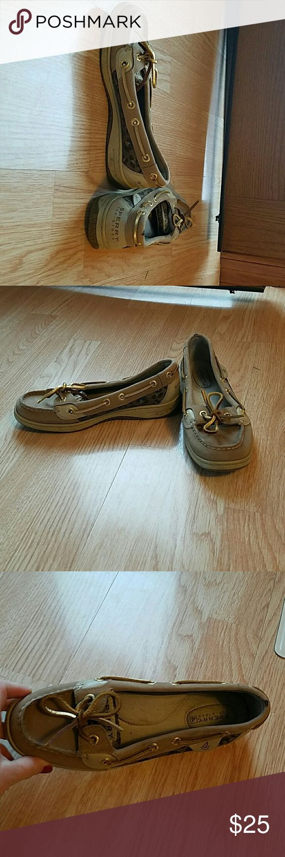 Women's Sperry's Cute! Good used condition. Need to be cleaned up. Sperry Top-Sider Shoes