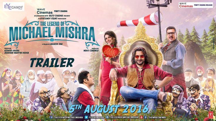 The Legend of Michael Mishra - Official Trailer | Arshad Warsi, Aditi Rao Hydari, Boman Irani | Releasing: 5-Aug-2016 | #hindicinema #comedycinema #cineresearch