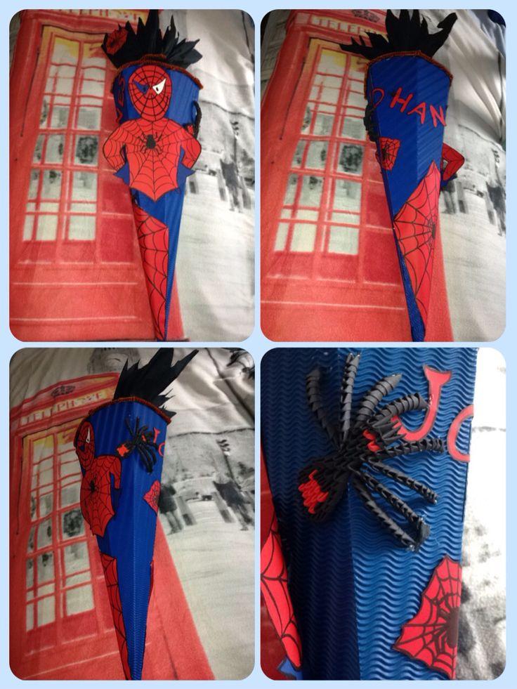 Schultüte Spiderman | schultüte | Pinterest | Spiderman