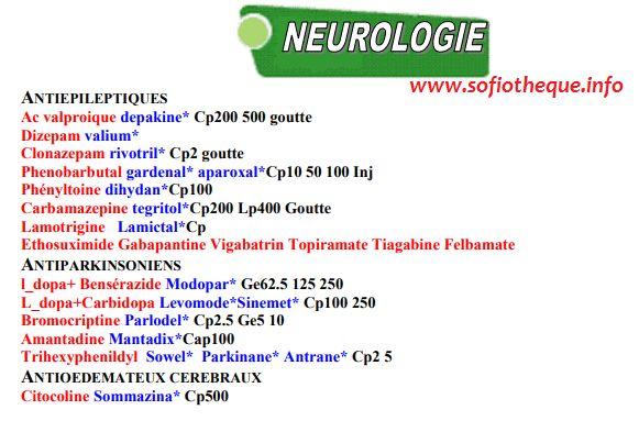 Cours PDF | NeuroleptiQues