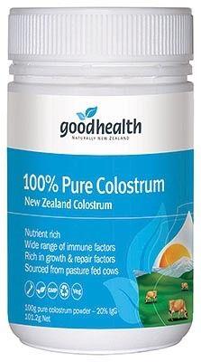 100% Pure Colostrum, 100g - Good Health
