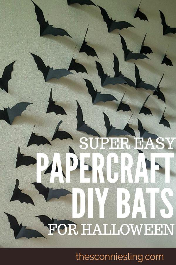 bats in the belfry: easy halloween diy