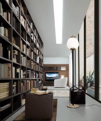 jesse open range modular bookcase system from A White Room
