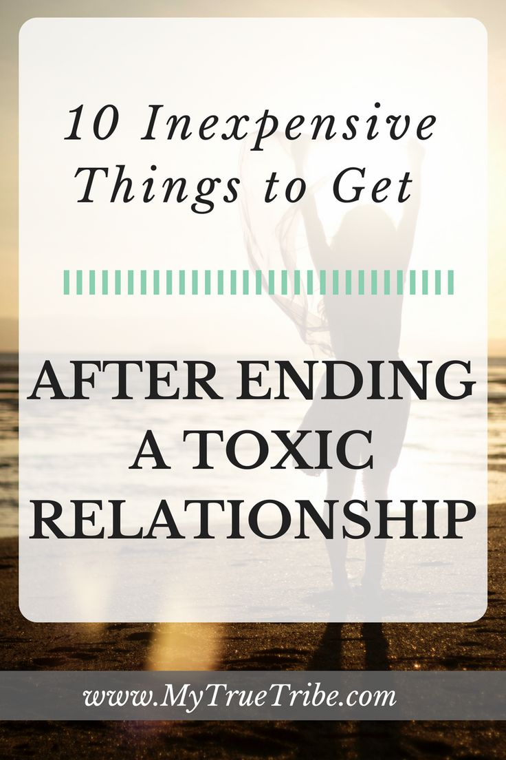 just ended a toxic relationship with mother