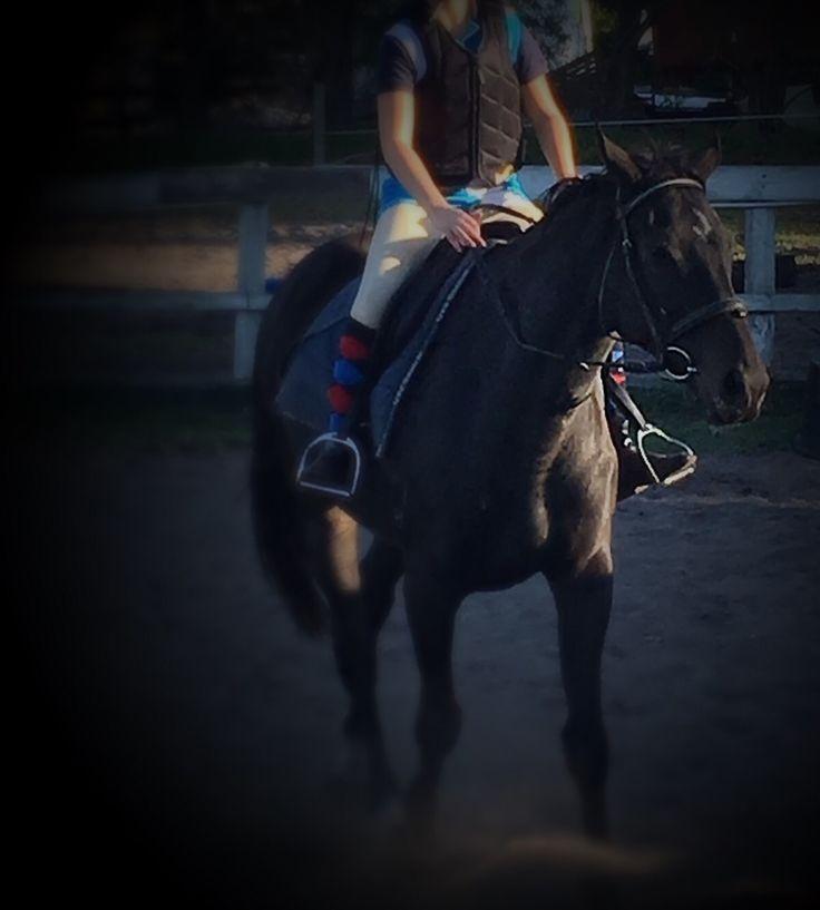 Me riding Kahn❤️❤️❤️❤️❤️❤️