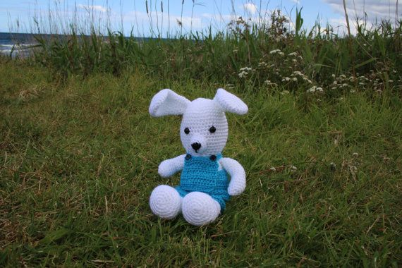 Crotchet bunny friends Billy and Betty by DelightGalleryCrafts