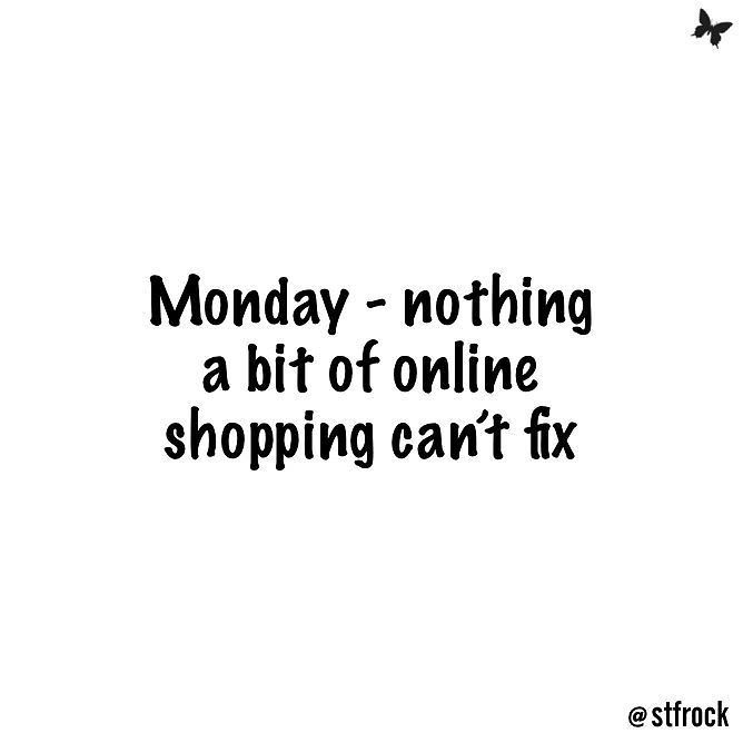 Online shopping makes everything better!! #lol #inspo #quote