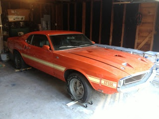 1969 Shelby GT500 Barn Find