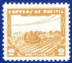 Bolivia 250 Stamp - Modern Agriculture Stamp - SA BL 250-1 MNH
