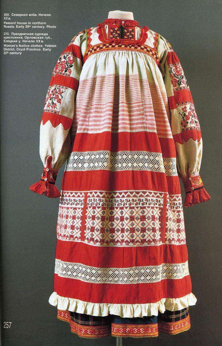 Folk costume of Ryazan country.