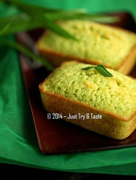 Just Try & Taste: Cake Pandan - Harum dan Yummy!
