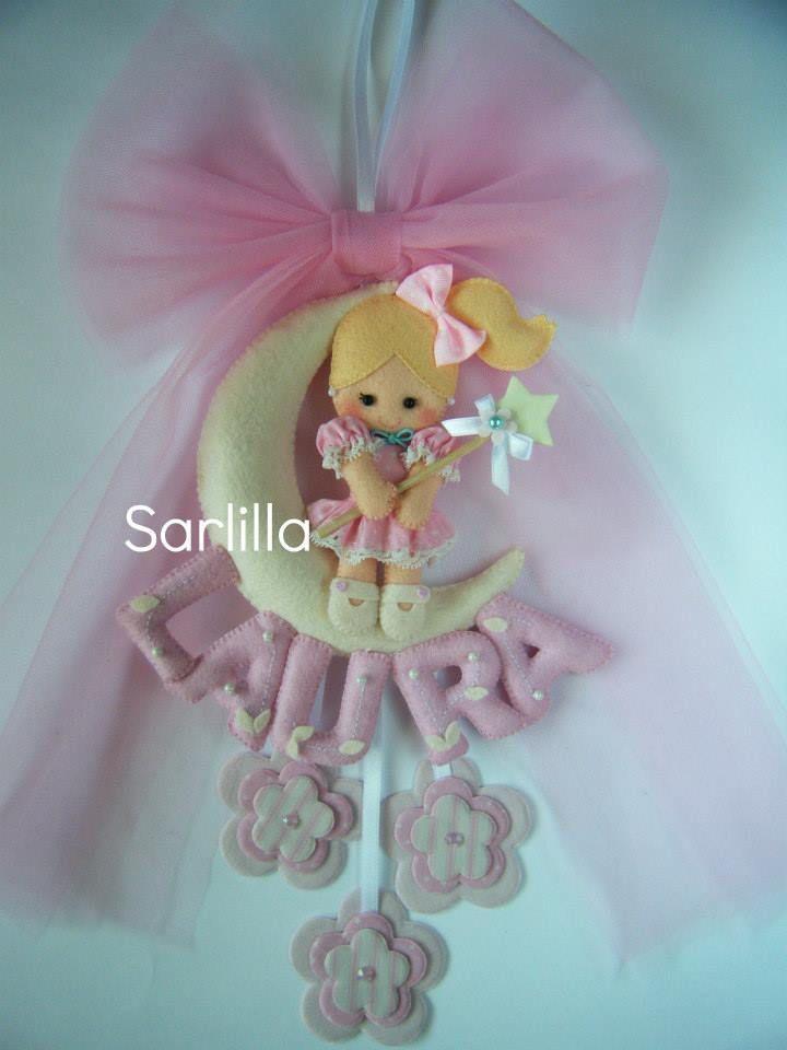 Le creazioni di Sarlilla: Fiocco nascita per Laura