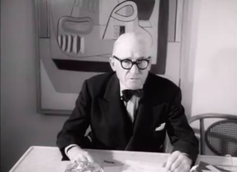 "Rare Footage of Le Corbusier Discussing his Work, Poetry & the ""Ideal City"""