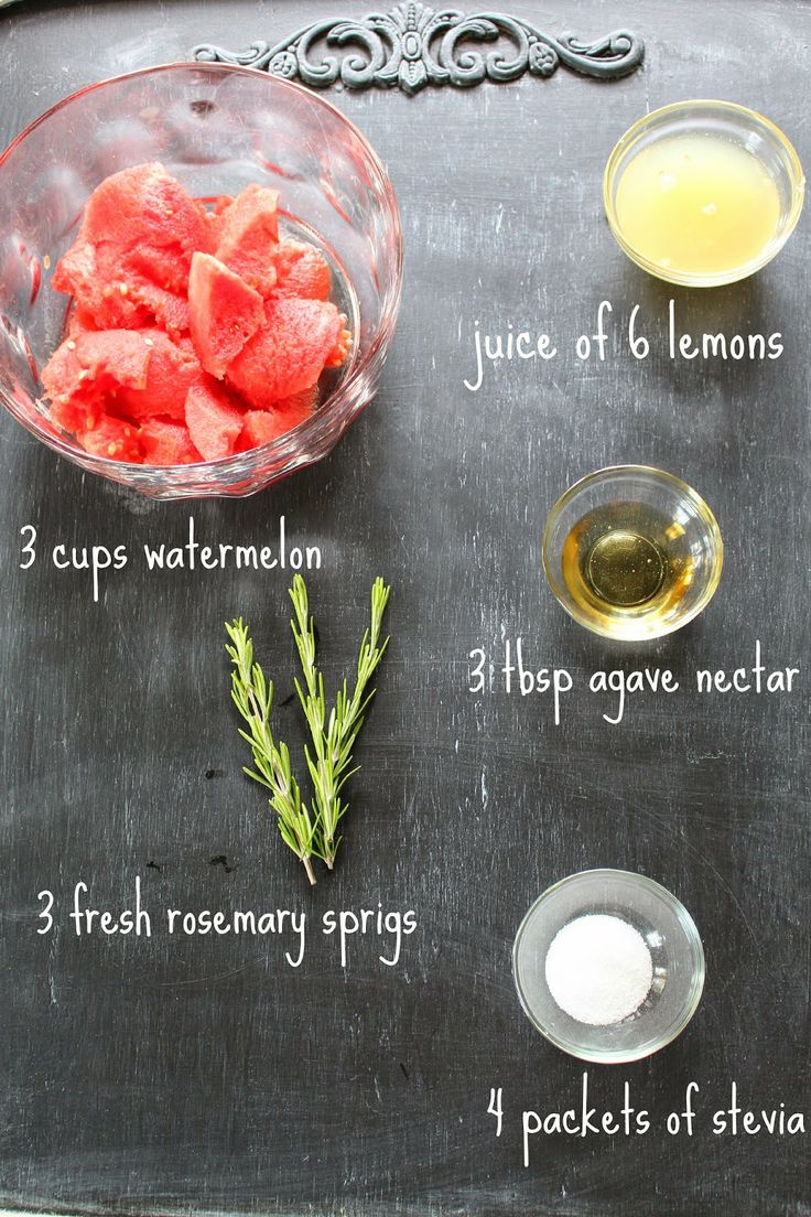 The Journey to a New Dee: Watermelon Rosemary Lemonade