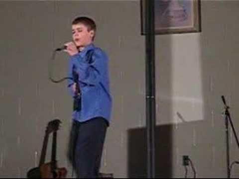Justin Singing Fallin by Alicia Keys