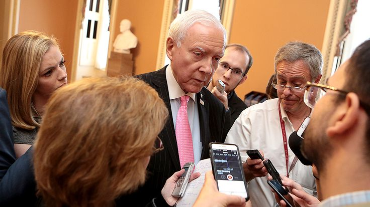Sen. Orrin Hatch (R-Utah) is offering support to special counsel Robert Mueller after he announced charges against Paul Manafort, President Trump's former campaign chairman.