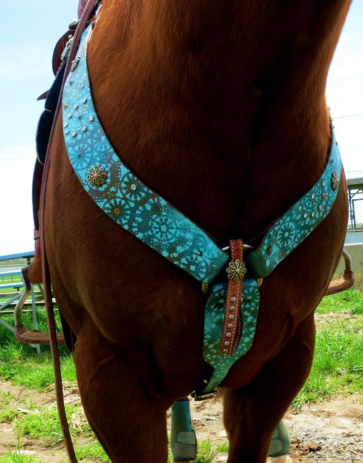 breast collar #western #tack #horses #barrelracing