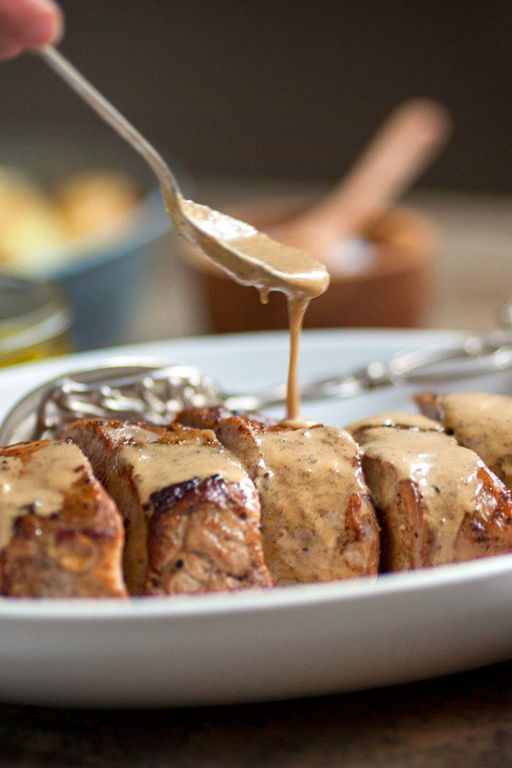 Here's a surprising and flavorful way to prepare tenderloin, one of the leanest and most economical cuts of pork Brown the whole tenderloin Let it rest for a few minutes, so the meat firms up a bit