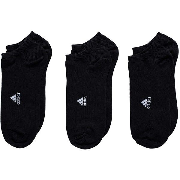 Adidas Sport Performance Lin Plain T 3pp ($16) ❤ liked on Polyvore featuring intimates, hosiery, socks, sports fashion, underwear, womens-fashion, sport socks, adidas socks, cotton sports socks and adidas