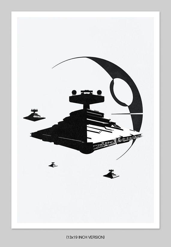 Filmplakat minimalistischen Film Geek Geschenk von TheArtLoungeUK