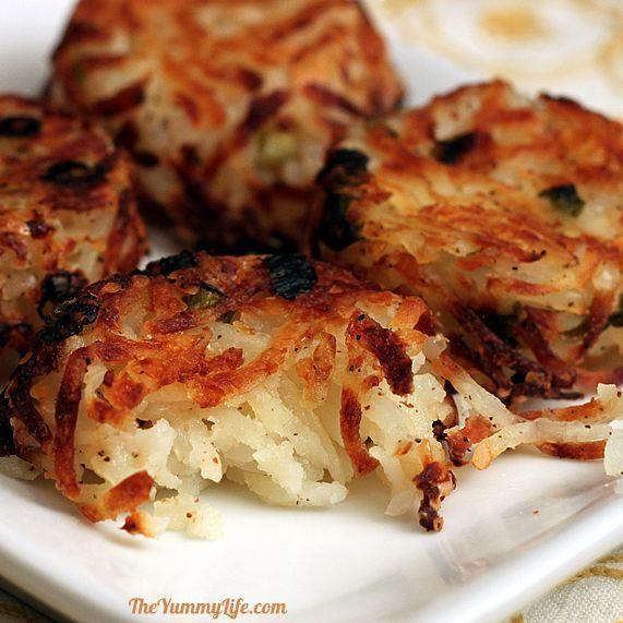 Hash  Brown Potato Cups These look yummy and much healthier than the stovetop version!