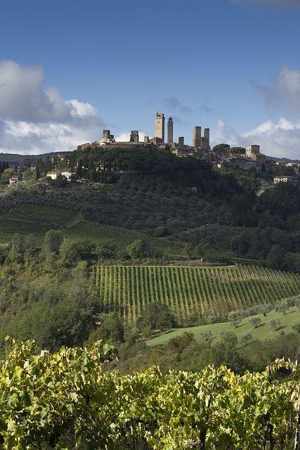 San Gimignano, province of Siena , Tuscany region Italy