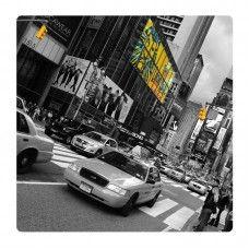 New York taxi falikép