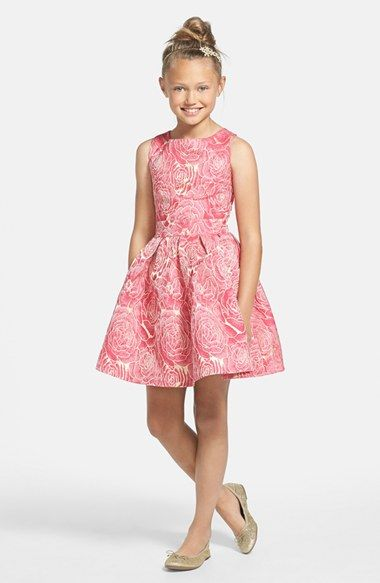 MISS BEHAVE 'Sonia' Skater Dress (Big Girls) available at #Nordstrom