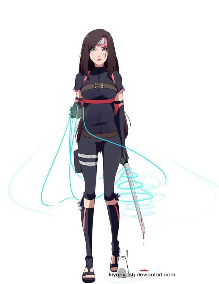 Аниме девушки ниндзя персонажи