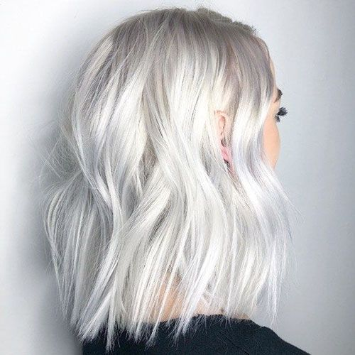 Short Haircut Com Short White Blonde Hairstyles In 2019