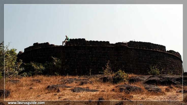 Chapora Fort, located in Bardez, Goa, rises high above the Chapora River. Before the Portuguese arrived in Goa in 1510, this location was the site of another fort. The fort changed hands several times after Portuguese acquired Bardez. Trying to end the Portuguese rule in Goa, Prince Akbar joined his father's enemies, the Marathas in 1683 and made this place his base camp. It became the northern outpost of the Old Conquests.