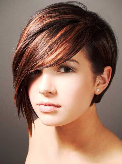 Short Long Pixie Haircuts for Thick Hair 2014