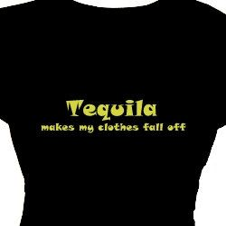 Tequila Makes My Clothes Fall Off  Funny Party Items, Party Gift, Woman's Tee Shirt  Plus Size Clothing,T Shirt, TShirt, Funny Shirts by FlirtyDivaTees on Etsy https://www.etsy.com/listing/155179636/tequila-makes-my-clothes-fall-off-funny