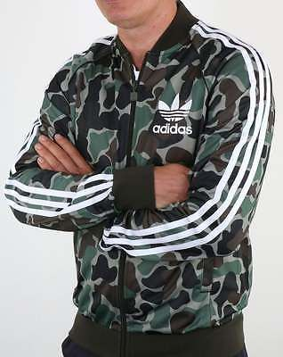 adidas Originals - Adidas Superstar Camo Track Top - 3 stripe tracksuit