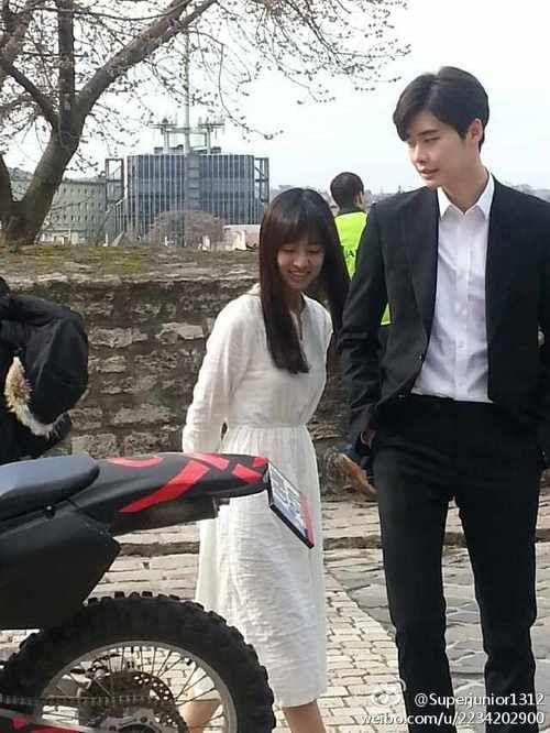 jin se yeon and lee jong suk dating advice