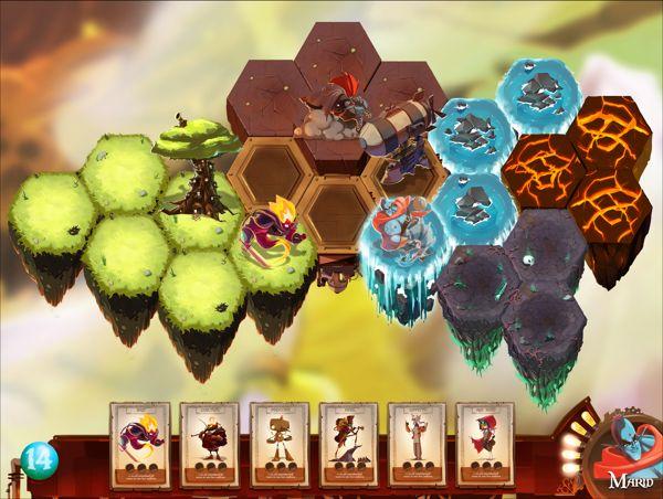 card game development art on Behance