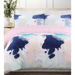 Smart Value Paint Quilt Cover Set - Single