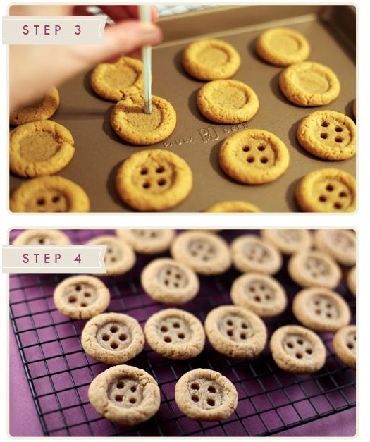 More Design Please - MoreDesignPlease - Button Cookies
