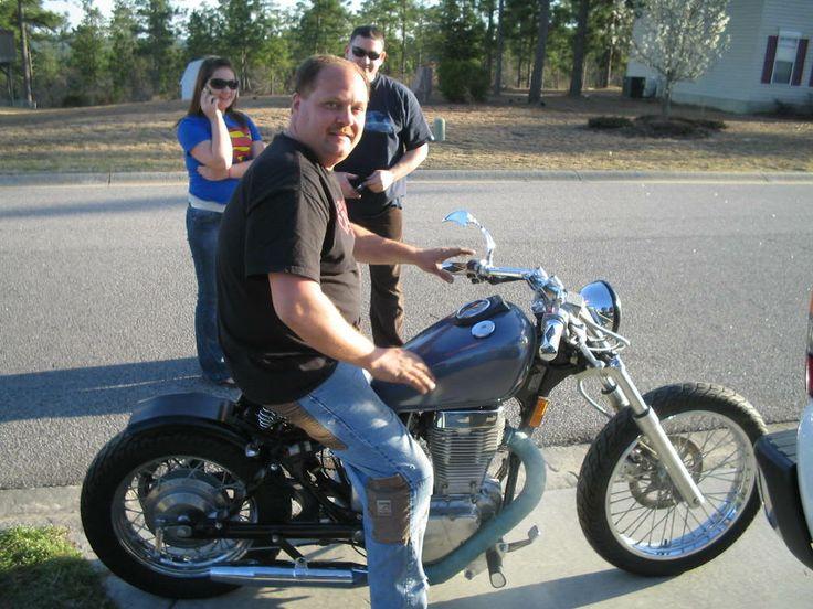 suzuki savage s40 bobber build   motorcycles   pinterest   bobbers