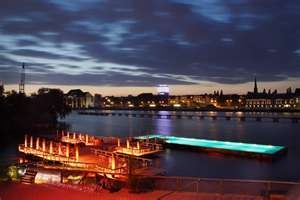 """""""Badeschiff""""...outdoor pool, floating on the Berlin's river...MUST SEE spot when in Berlin"""