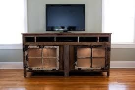 wooden entertainment center