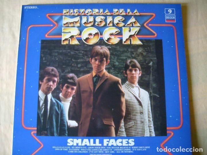 SMALL FACES HISTORIA DE LA MÚSICA ROCK ORBIS Nº 9