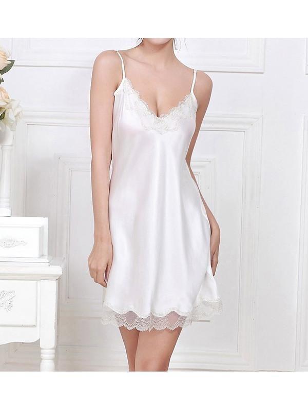 women fashion   lingerie   classy   elegant      vintage   silk   nightwear   wedding   set   cute   underwear   luxury   beautiful   outfits   Center Stage low back mini slip gown 100% silk