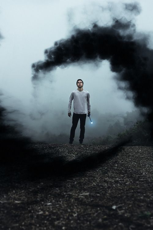 """"""" Oh that is real cute May """" Dawson smiles, swallowing his fear. The black smoke swirls around him, ripping the air from his lungs. He falls to his knees, his thoughts mixed into a frenzy. what was this? When did she get this new power"""