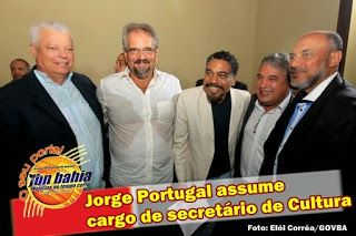 SALVADOR / Jorge Portugal assume cargo de secretário de Cultura - .