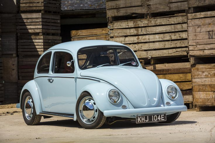 1967 VW Beetle 'Little Blue' — Classic Car Revivals #aircooled #aircooledlife …