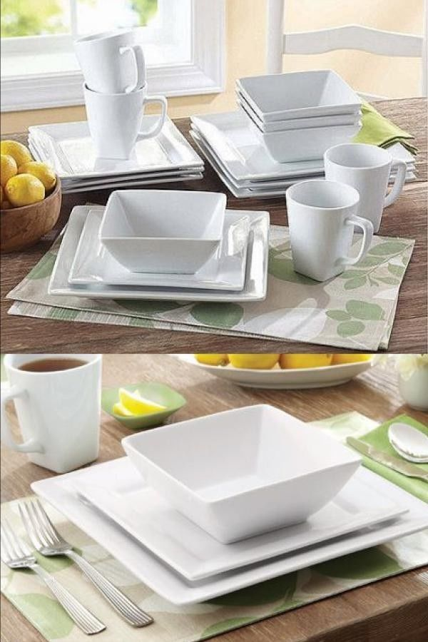 34++ Square dining plate set Best Choice