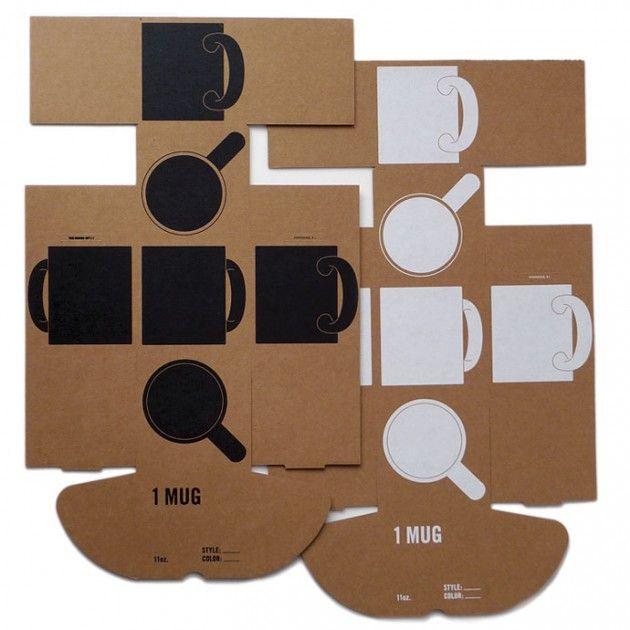 Mug Box Packaging  #design